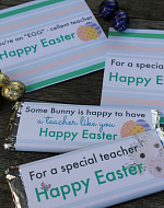 Easter Hershey Wrappers