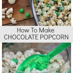How to make chocolate popcorn