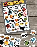 Fathers Day Bingo