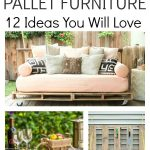Learn how to make pallet furniture with these simple step by step tutorials. With all the indoor and outdoor furniture made from wood pallets these are all cost effective projects. Teach the kids some DIY and create a new masterpiece for the home.