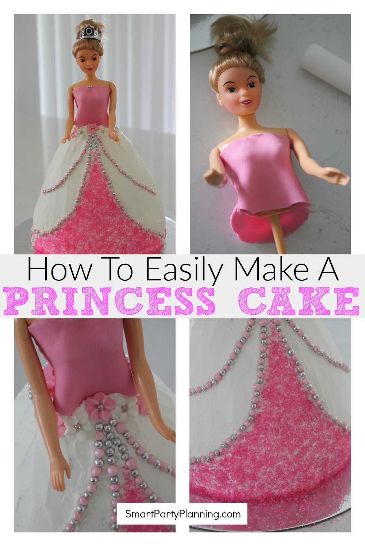 How To Easily Make A Princess Cake