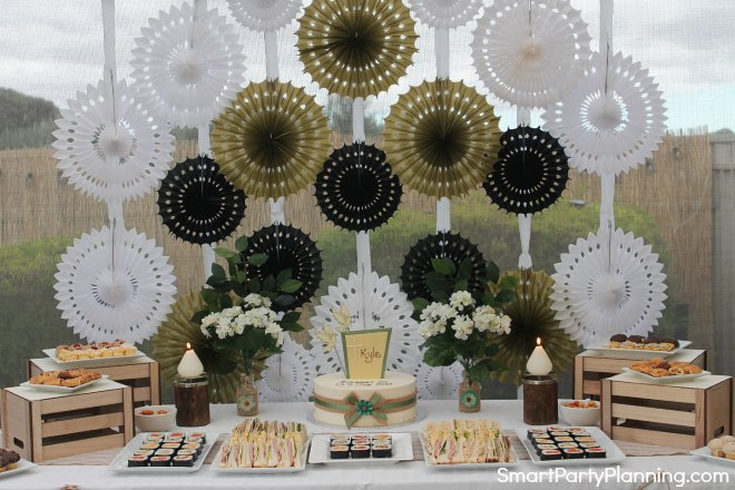 Rustic Blessing Table