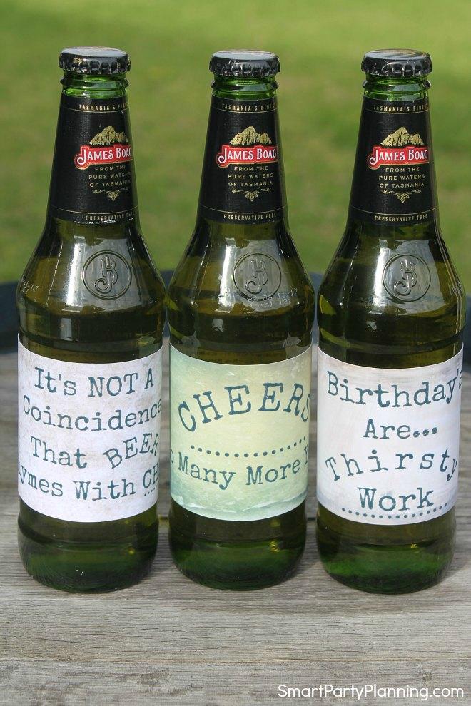 Printable Beer Labels