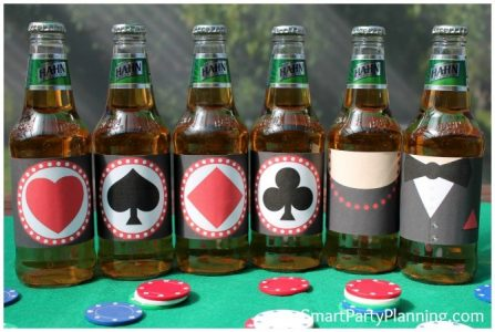 Casino Themed Beer Printables