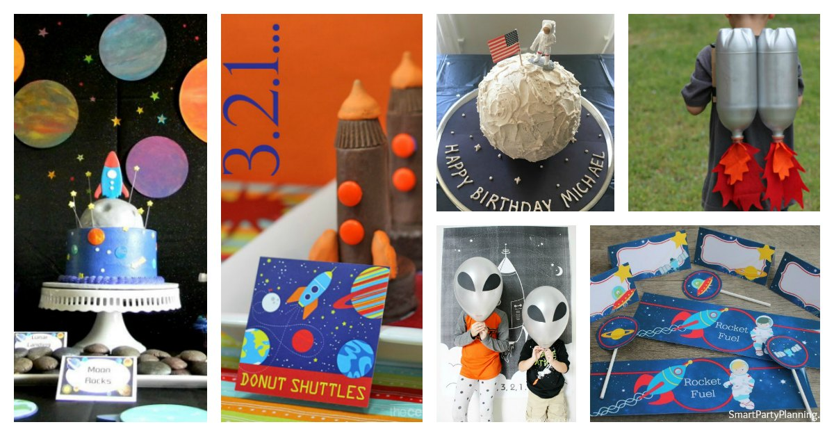 18 of the best outer space birthday ideas on pinterest for Outer space planning and design group