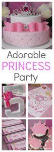 Adorable Princess Birthday Party