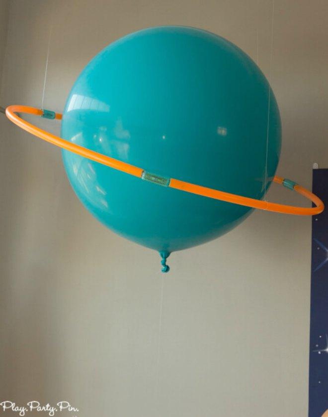 DIY Planet Balloon