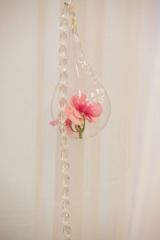 Petals in a jar