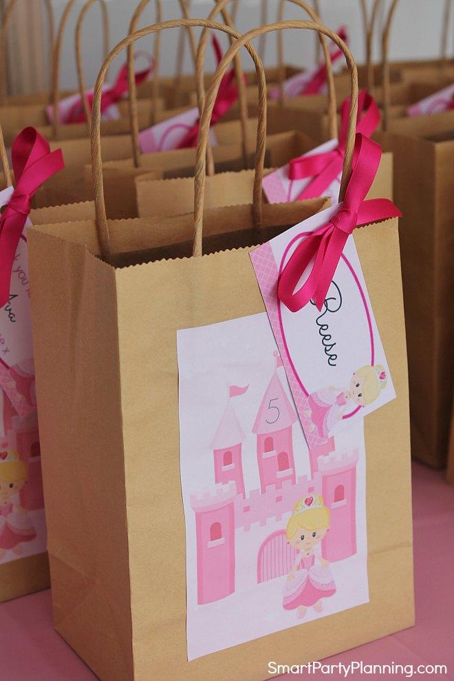 Princess Favor Bags