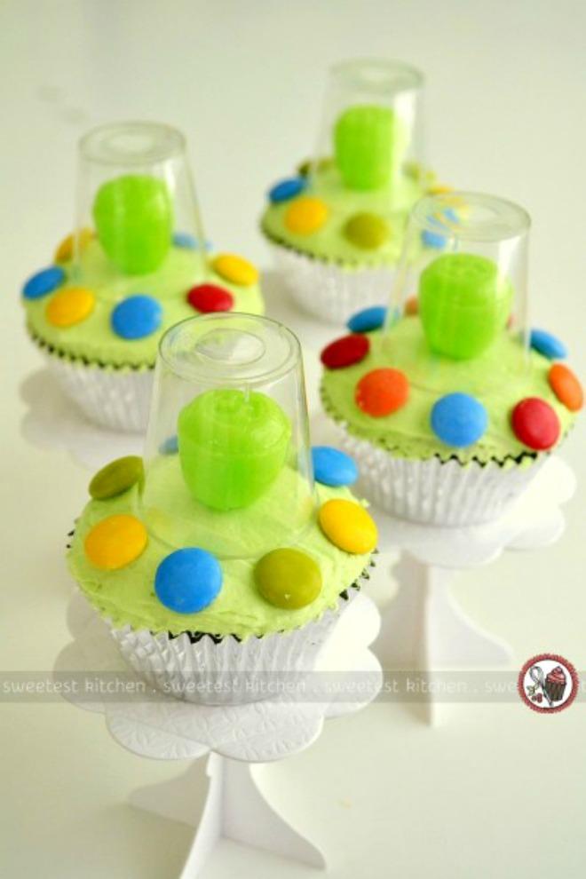 UFO Cupcakes