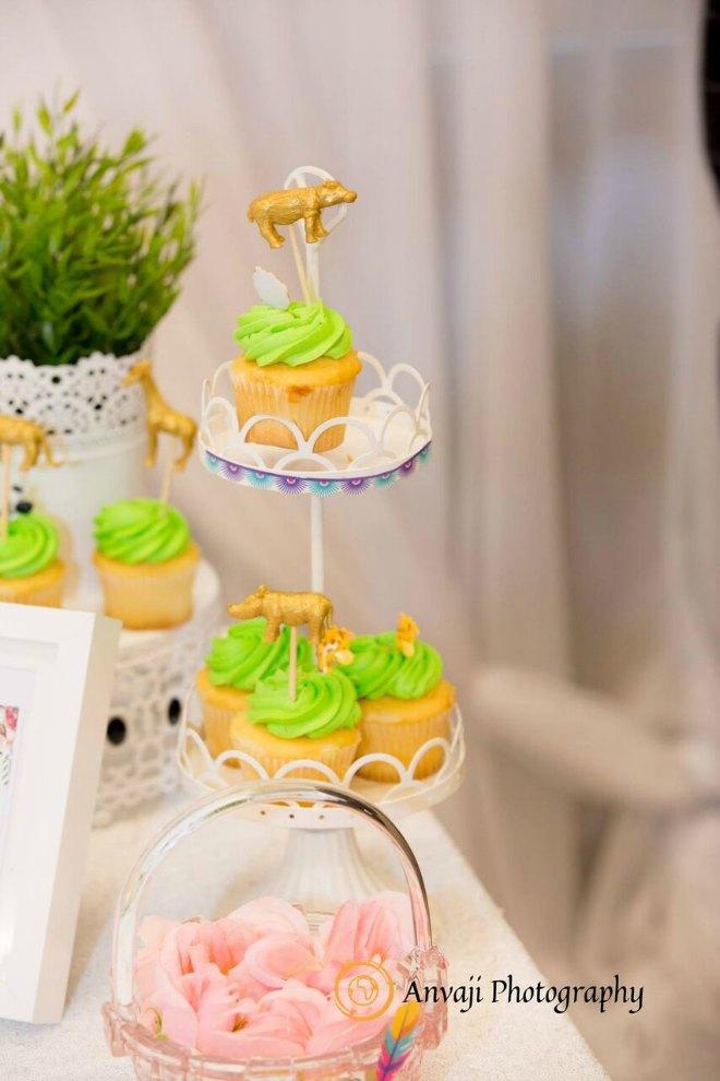 Wild One Cupcakes