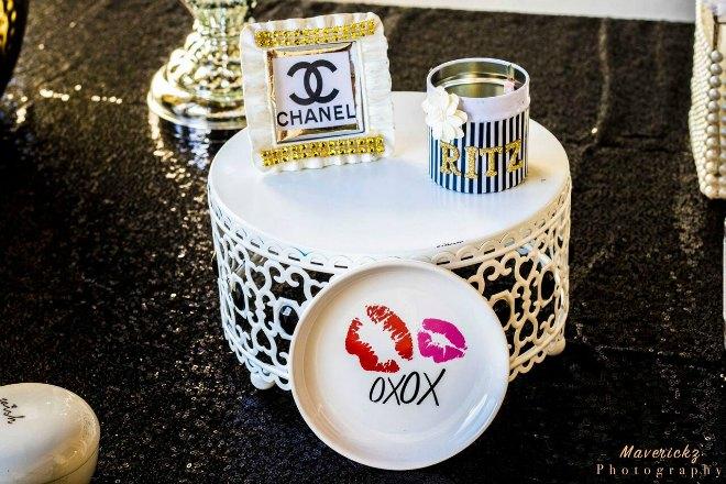 Chanel party decor