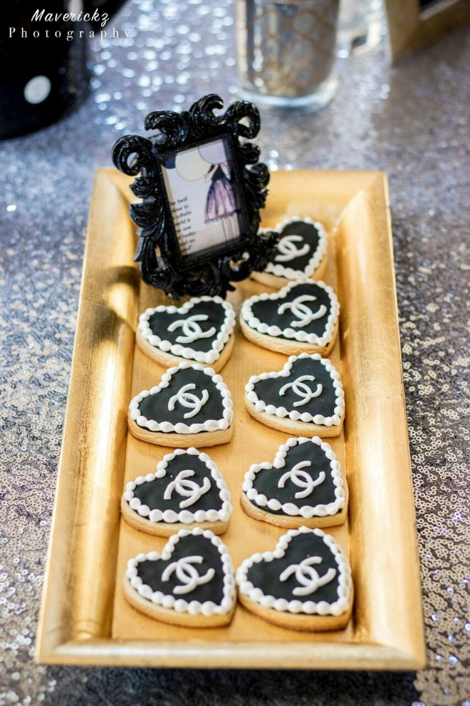 Chanel Cookie tray