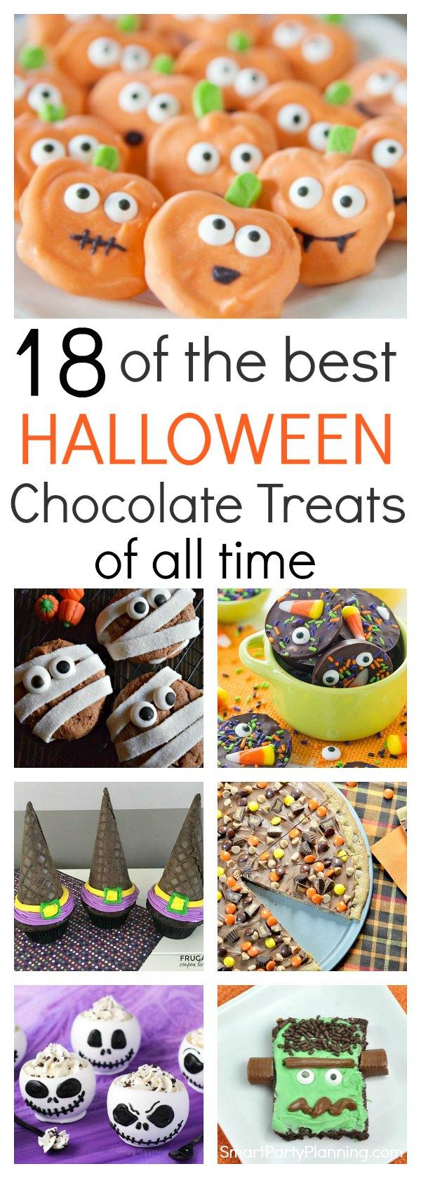 Halloween Chocolate Treats