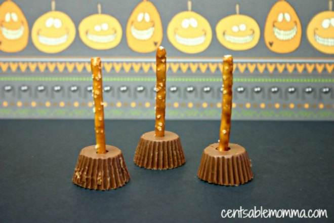 Witches Broomsticks Snacks