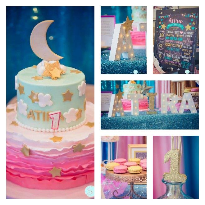 twinkle twinkle little start first birthday party