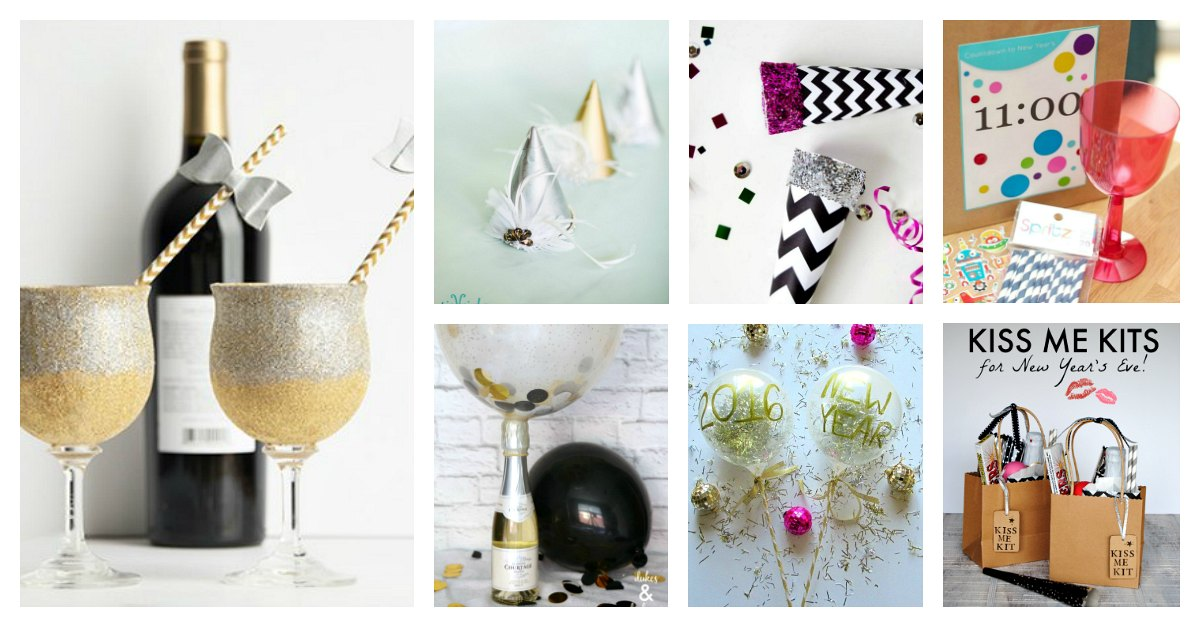 Last minute homemade new years eve decorations you 39 ll love - Last minute new year s eve party ideas ...