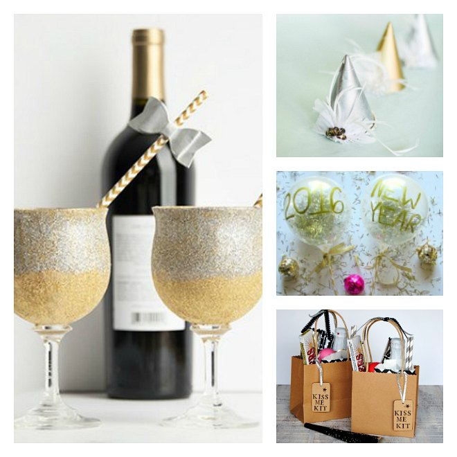 Easy homemade new years eve decorations