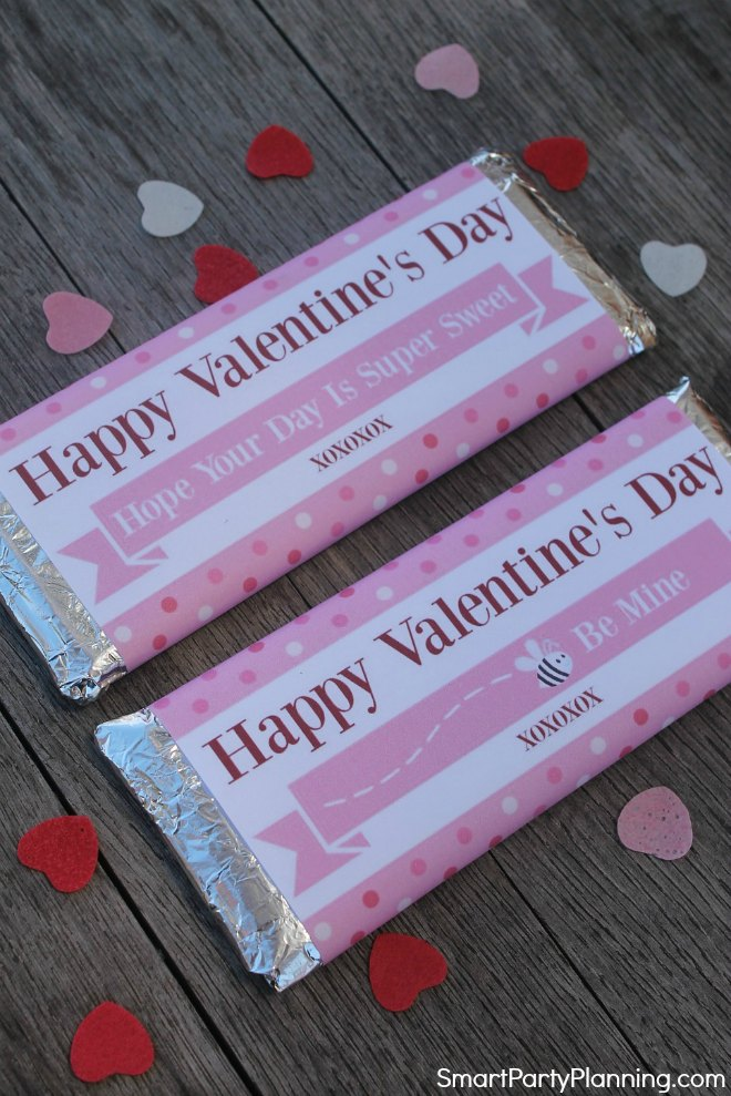 Free Valentines Printables for Hershey Bars