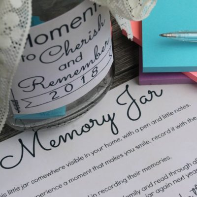 How To Make The Best Memory Jar (With Free Printable)