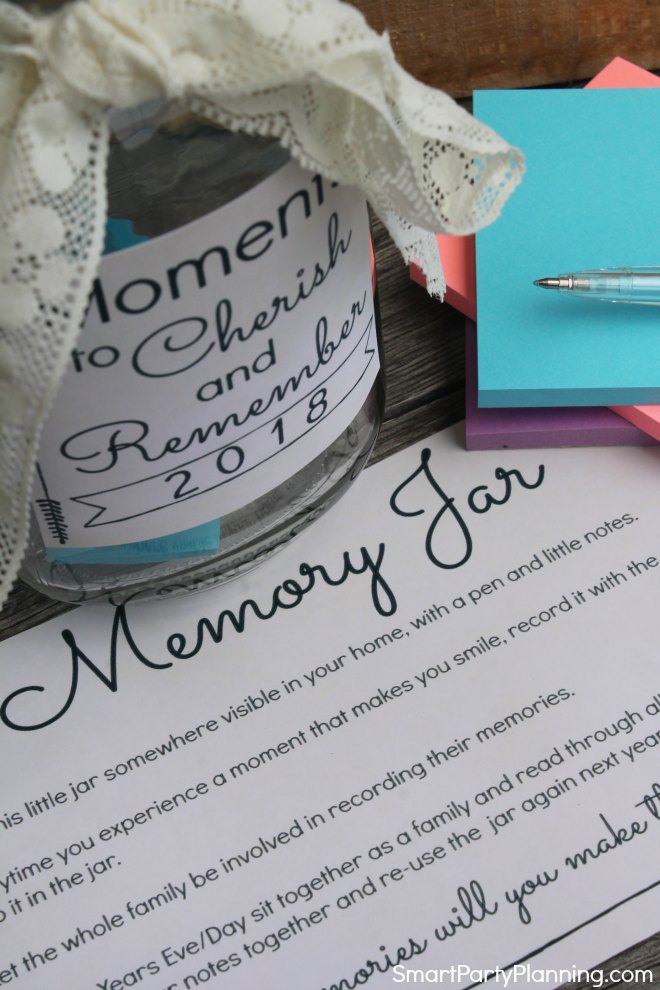 How to use a memory jar