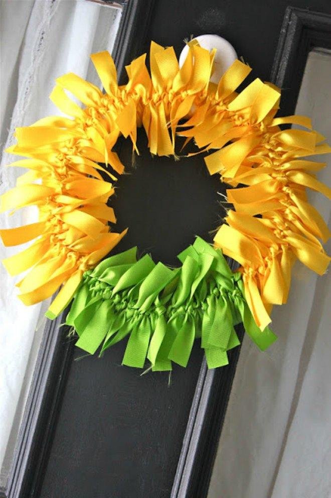 St Patricks day decorations wreath