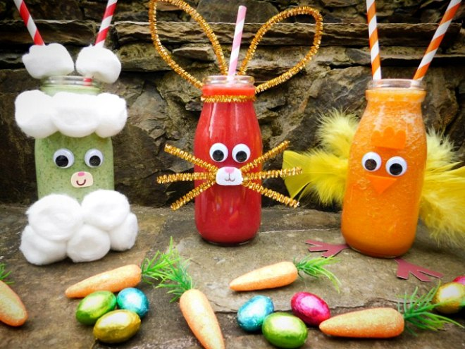 Easter smoothies
