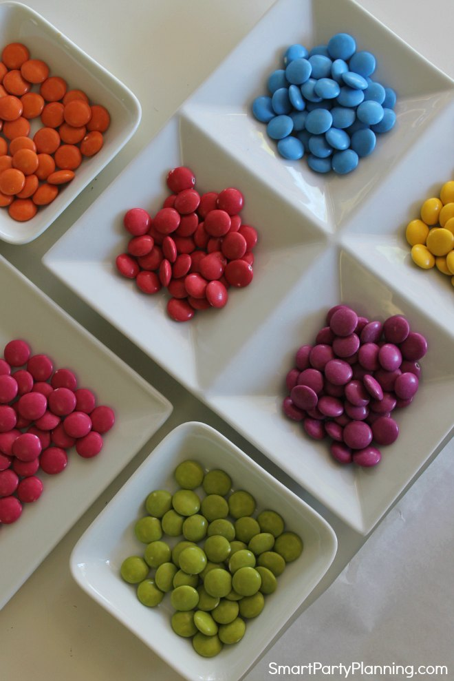 Selection of smarties