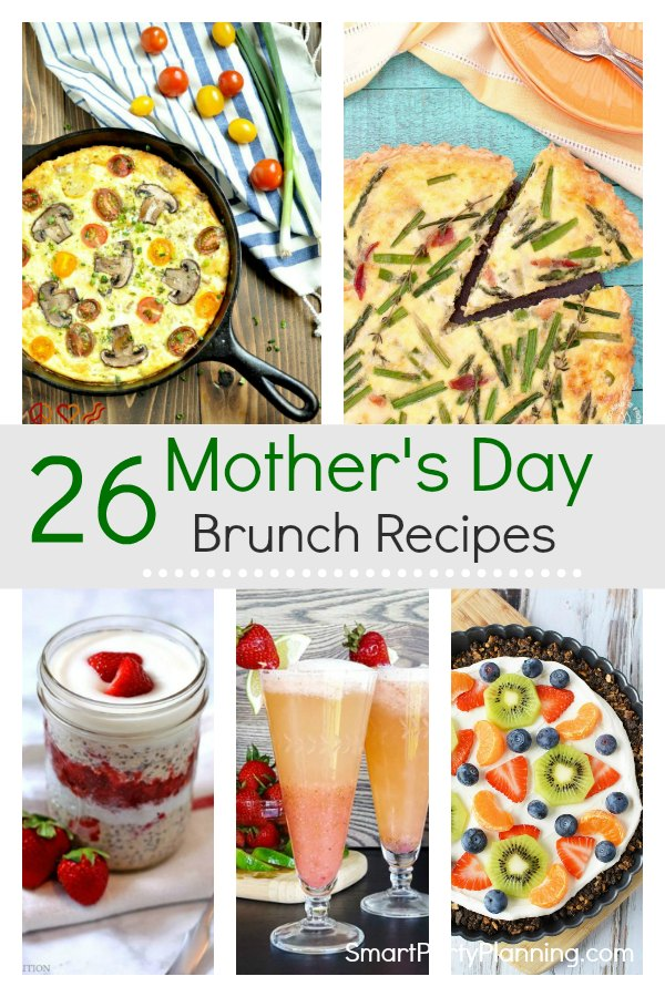 26 Mother's Day Brunch Recipes
