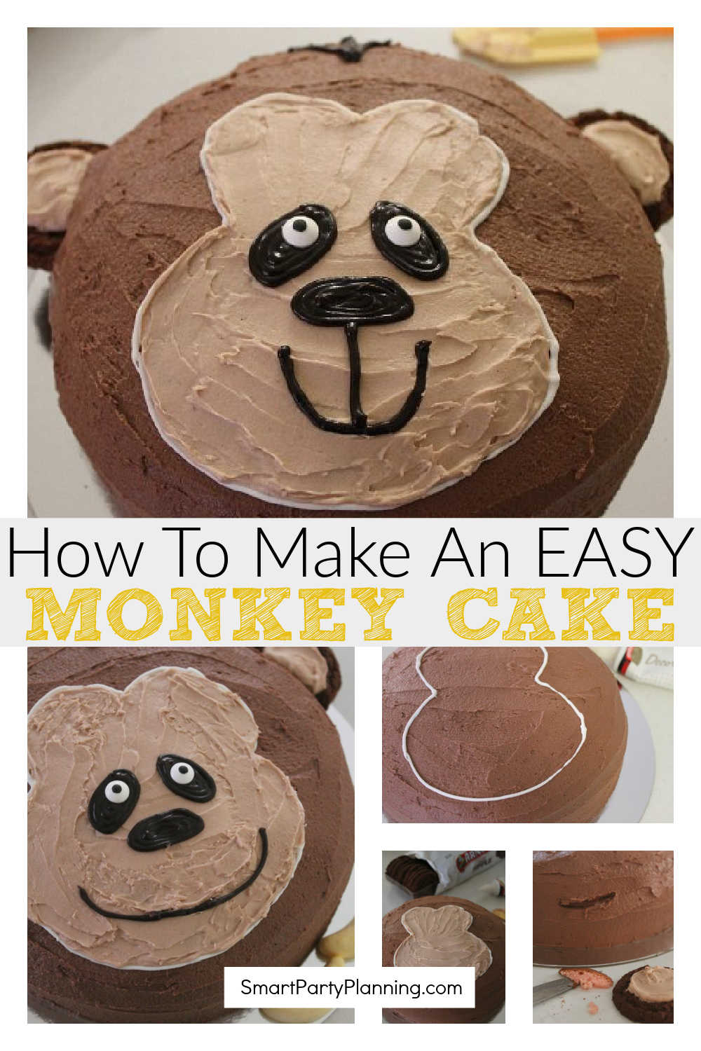 How to make an easy monkey cake