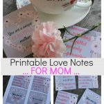 Printable Love Notes For Mom