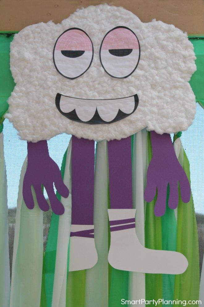 DIY Cloud man from Trolls