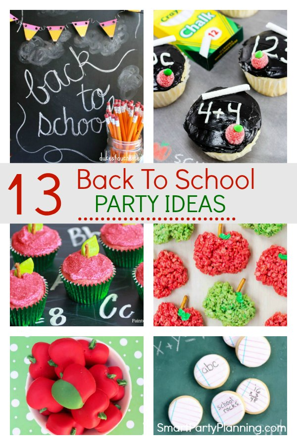 13 back to school party ideas