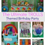 The ultimate Trolls Themed Birthday Party