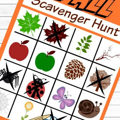 Easy & Fun Fall Scavenger Hunt For Kids Who Love The Outdoors