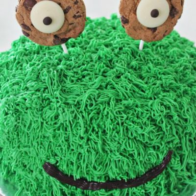 How To Make A Super Cute Easy Monster Cake