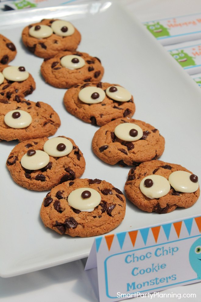 Chocolate chip monster cookies