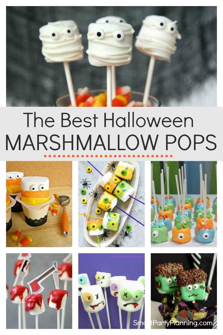 The Best Halloween Marshmallow Pops