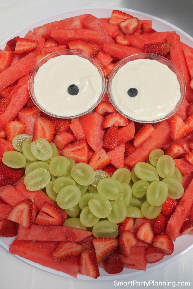 Monster Fruit Plate