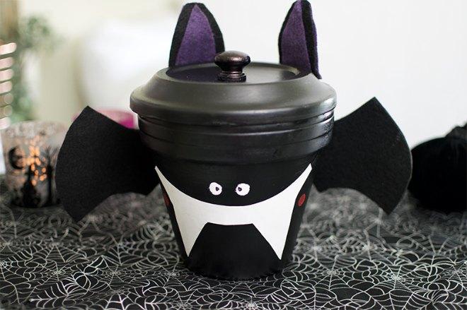 Bat candy dish
