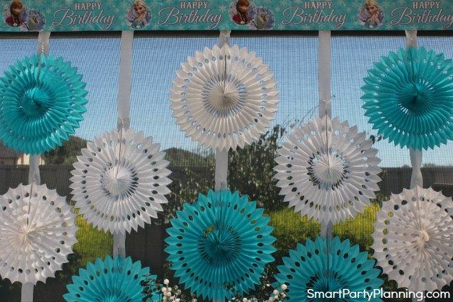 Frozen Party Backdrop