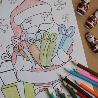 The Best Free Santa Coloring Pages That The Kids Will Love
