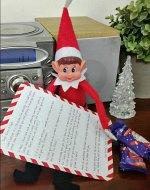 elf on the shelf free printable letter 150 x 190