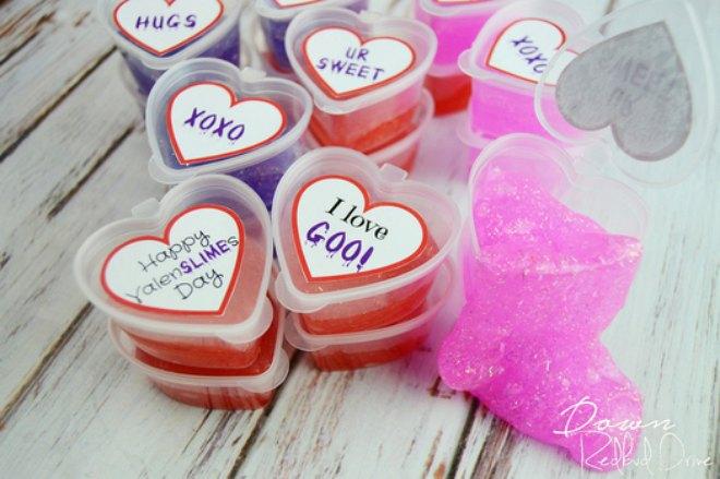 Easy Valentine Slime