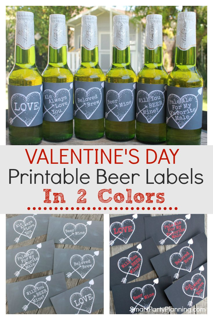 The best beer bottle labels for Valentines day