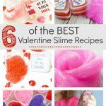 Valentine Slime Recipes