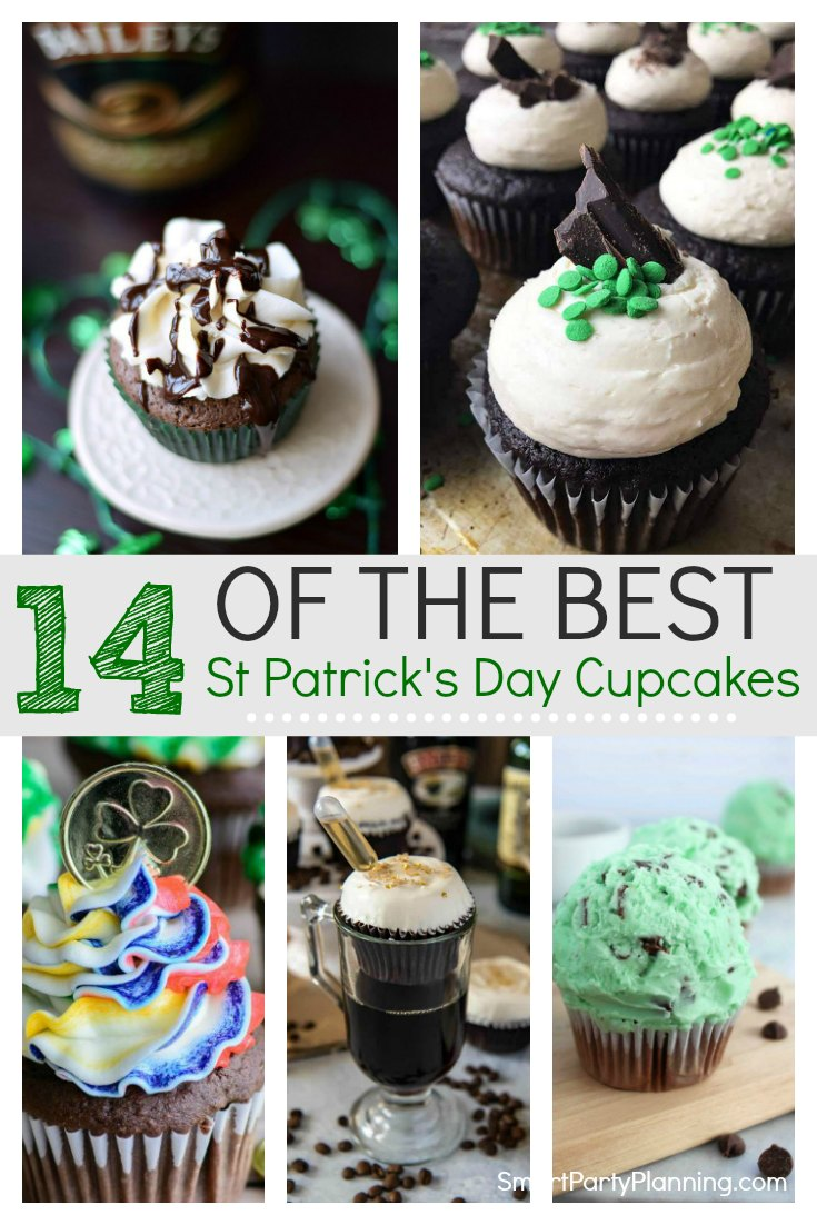 14 of the best St Patricks day cupcakes