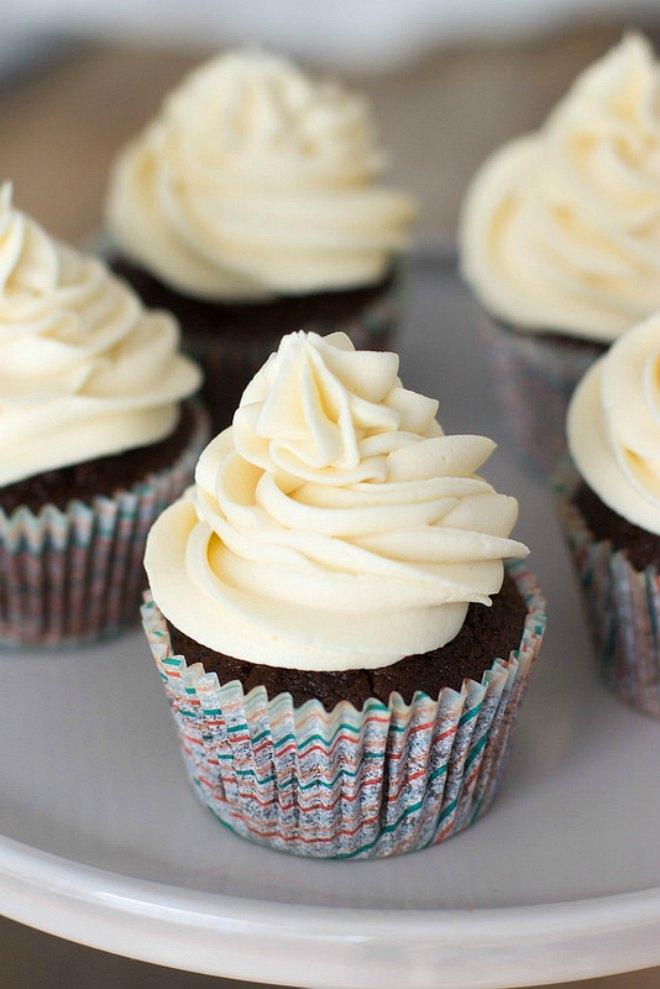 Irish Stout Cupcakes