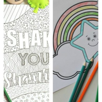 Free St Patrick's Day Coloring Pages Children Will Want To Complete
