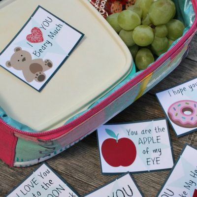 The Best Free Valentines Day Lunch Notes For Kids